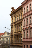 Typical Prague building Stock Images