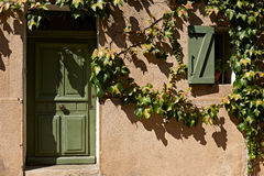 Typical Provence house facade Stock Image