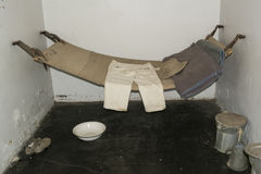 Typical Provisions and Remand Cell, Adelaide Gaol, Adelaide, Sou Royalty Free Stock Photos