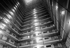 Typical public housing in Hong Kong Royalty Free Stock Image