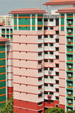 Typical public housing in Singapore royalty free stock photography