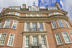 Typical red-brick building in London Royalty Free Stock Photos