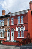Typical red brick house Royalty Free Stock Image