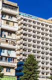 Typical residential buildings in the city centre of Chisinau - M Royalty Free Stock Photo