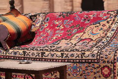 Typical rest, Petra Royalty Free Stock Photography