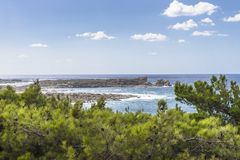 Coast of Crete island Stock Photos