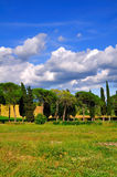 Typical Roman Countryside royalty free stock photo