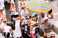 Typical Romeria Fiesta Party Royalty Free Stock Photo