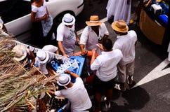 Typical Romeria Fiesta Party Stock Photo
