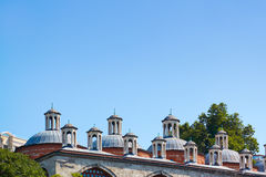 А typical roof of  covered market in Istanbul. Royalty Free Stock Photos