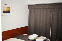 Typical room in a modern hotel Stock Photo