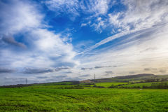 Typical rural landscape in England Stock Images