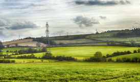 Typical rural landscape in England Stock Image