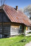 Typical rural scen in Patrahaiesti Fall with provincial house in Transylvania stock images
