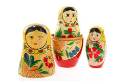 Typical Russian Babushka Stock Photography