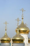 Typical Russian church Stock Images