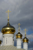 Typical Russian church Royalty Free Stock Photo