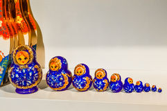 A typical russian doll Matreshka. Stock Photography