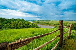 Typical Russian landscape Royalty Free Stock Photo