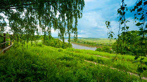 Typical Russian landscape Royalty Free Stock Image