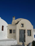 Typical Santorini house Royalty Free Stock Photography