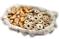 Typical sardinian biscuits Royalty Free Stock Photos