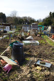 A typical scene in an Allotment Royalty Free Stock Images