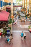 A typical scene in Patong Thailand royalty free stock photo
