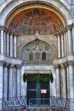 Typical Scene of Venice City in Italy. Stock Photo