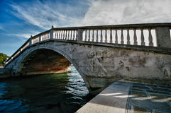 Typical Scene of Venice City in Italy. Royalty Free Stock Image