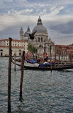 Typical Scene of Venice City in Italy. Royalty Free Stock Photo