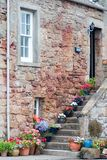 Typical Scottish Home. Scottish, A Typical Scottish Home royalty free stock image