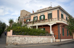 Typical semitropical House in Italy. (Tuscany royalty free stock images