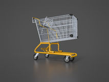 Typical shopping cart Royalty Free Stock Photos