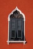 Typical shuttered Venetian window Stock Photography