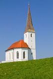 Typical small church in Bavaria Royalty Free Stock Photos