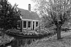 Typical small Dutch house Royalty Free Stock Images