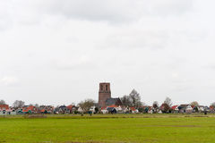 Typical small Dutch village Royalty Free Stock Photography