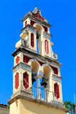 Typical small venetians church,  Corfu Stock Images