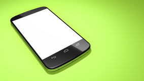 Typical smartphone with space for your content Royalty Free Stock Photography