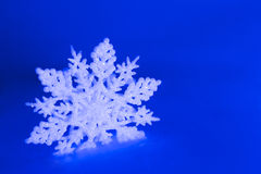 Typical snow flake Christmas and Winter Royalty Free Stock Photo