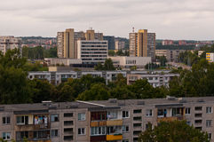 Typical Socialist Block of Flats Royalty Free Stock Photo