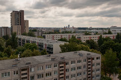 Typical Socialist Block of Flats Stock Image