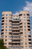 Typical Socialist Blocks of Flats Royalty Free Stock Photography