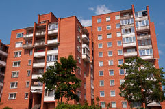 Typical Socialist Blocks of Flats Stock Image