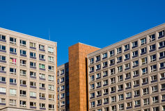 Typical socialistic building Royalty Free Stock Photography