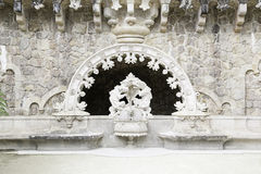 Typical source in Quinta da Regaleira in Sintra Royalty Free Stock Photos