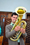 Typical South Tyrolean band Royalty Free Stock Photo