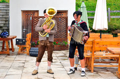 Typical South Tyrolean band Royalty Free Stock Photography