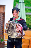 Typical South Tyrolean band Stock Photography